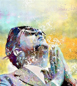 prayer (yellow) by makoto saito