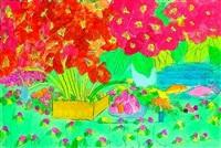 rose garden by walasse ting