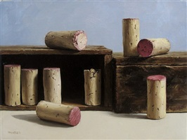 corks at random (sold) by michael naples
