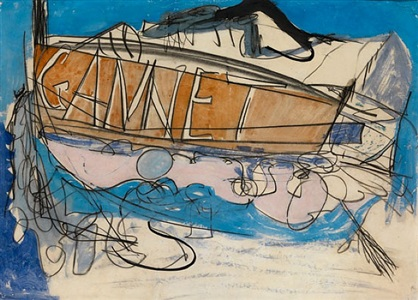 gannet by peter lanyon