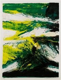 untitled (255) by zao wou-ki