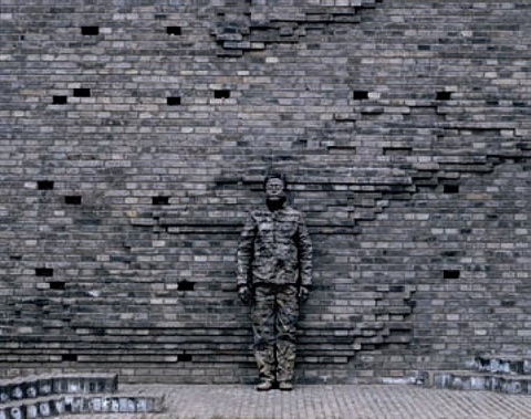 no. 63 gray's opening ceremony by liu bolin