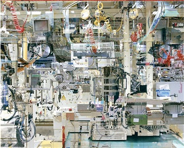 usine toyota n°11, from the series melting point (valenciennes) by stéphane couturier