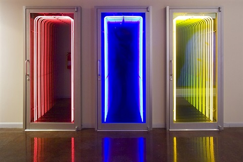 untitled (triptych) by iván navarro