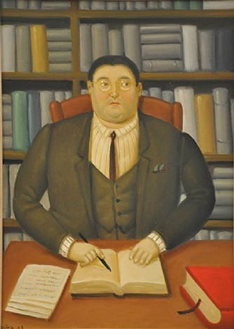 lawyer by fernando botero