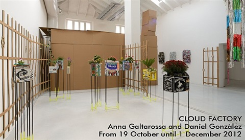 cloud factory, installation view 2012