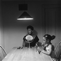 untitled (from kitchen table series) by carrie mae weems