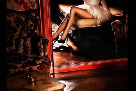 girl in the red mirror by david drebin
