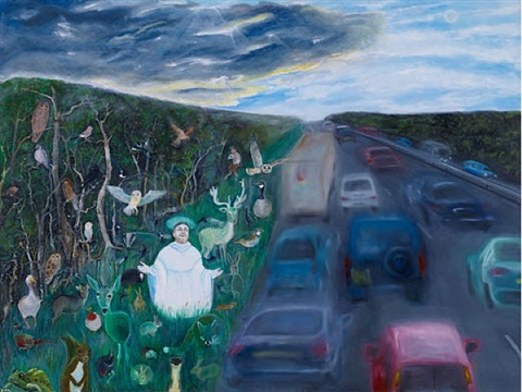 st. francis of the motorway (saints and sinners) by david harrison