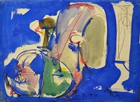 blue extasy by hans hofmann