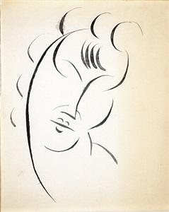 head of woman by elie nadelman