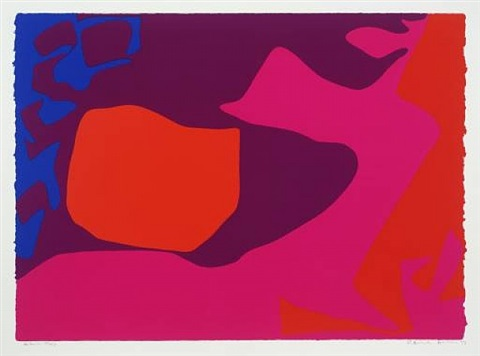 from january 1973: 2 by patrick heron