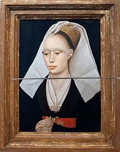 ciao bella i (after rogier van der weyden) by lino lago