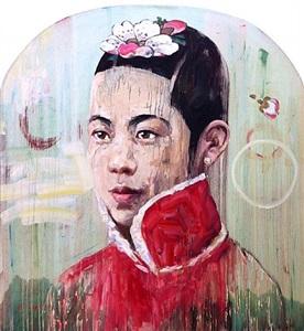 visage i by hung liu