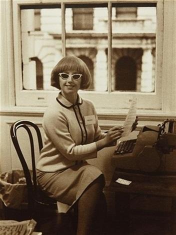 untitled secretary by cindy sherman