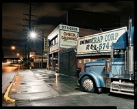 truck, los angeles, from: down these mean streets by will steacy