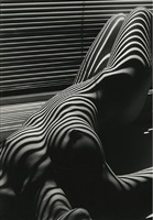 nu zebre, new york by lucien clergue