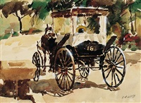nassau: horse and carriage by cal a. luce