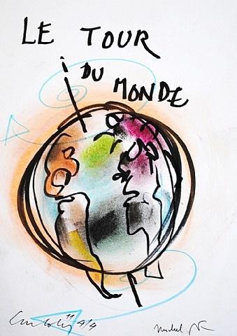le tour du monde by luc joly and michel butor