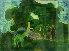 before troy by romare bearden