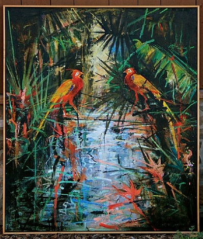 the jungle birds showdown by john alexander