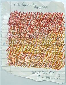 thank you cy by michael scoggins