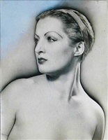 untitled (meret oppenheim) by man ray
