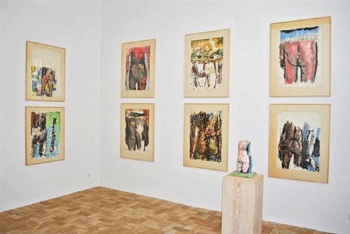 installation view galerie michael werner
