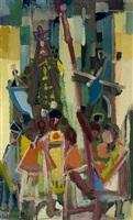 processione (venerdi santo) by eduard bargheer