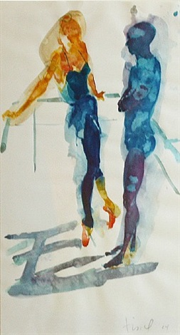 denver dancers by eric fischl