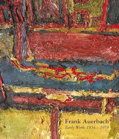 frank auerbach, early works 1954-1978 (catalogue cover)