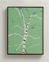paper birch by gary hume
