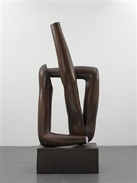 american tan vii (bronze) by gary hume