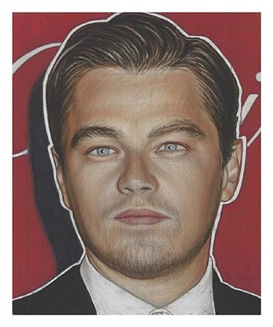 most wanted - leonardo di caprio by richard phillips