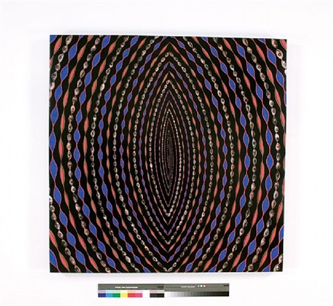 untitled (e) by fred tomaselli
