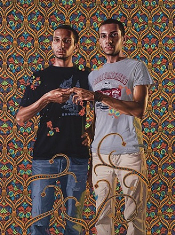 portrait of a couple, 1912-1956 by kehinde wiley