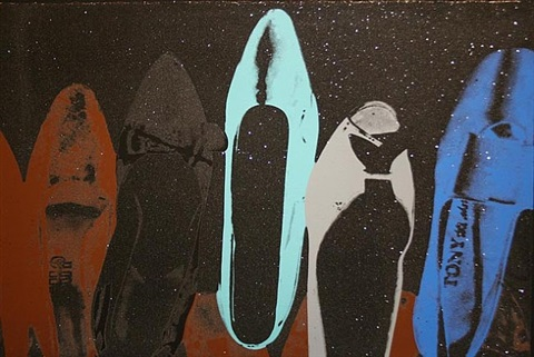 shoes fs ii.257 by andy warhol