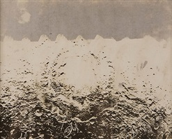untitled (moonscape with 3 arrows) by wallace berman