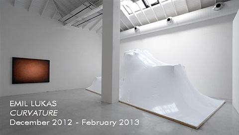 curvature, installation view 2012