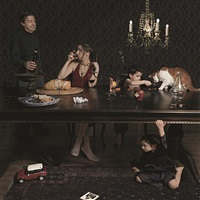 dinner party by julie blackmon