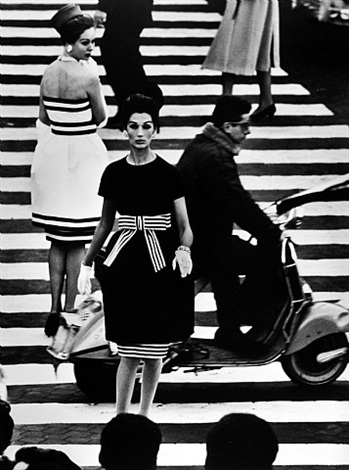 nina & simone, piazza di spagna, rome, vogue by william klein