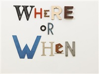 where or when by jack pierson
