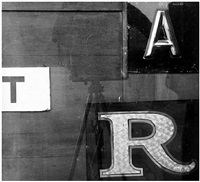 letters, new york city by arnold newman