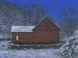 starry winter night (sold) by del-bourree bach