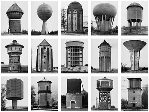 wassertürme water towers by bernd and hilla becher