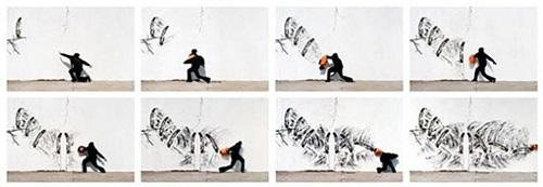 art basel miami beach by robin rhode
