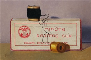 darning silk still life by dan brown
