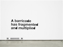 ...or barricade by liam gillick