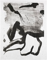 beach scene by willem de kooning
