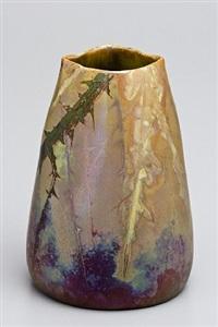 vase rosier by lucien lévy-dhurmer